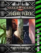 Necropolis 2350 - Figure Flats: War Masters Set (Packs 1-6)