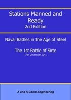 Stations Manned and Ready - 2nd Edition - 1st Battle of Sirte