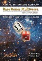 Bare Bones Multiverse Core Rules