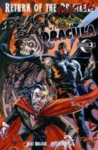 Return of the Monsters: Black Bat vs Dracula
