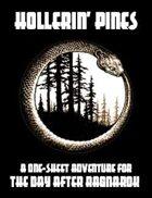 One Sheet - Hollerin' Pines (Savage Worlds)