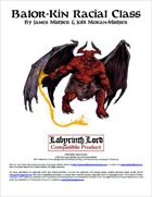 Labyrinth Lord: Balor-Kin Racial Class