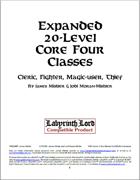 Expanded 20-Level Core Four Classes