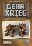 Victory Decision: Gear Krieg Preview
