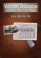 Victory Decision: WW II - KV-5 and Su-76i