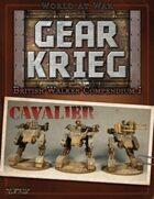 Gear Krieg: British Walker Compendium I - Cavalier