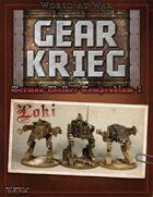 Gear Krieg: German Walker Compendium I: Loki