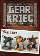 Gear Krieg: German Walker Compendium II: Walkuere