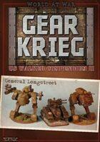 Gear Krieg: US Walker Compendium II - General Longstreet