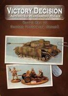 Victory Decision: WW II - German Technical Manual