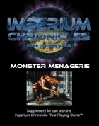Imperium Chronicles Role Playing Game - Monster Menagerie
