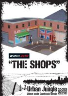 The Shops - Cardstock building
