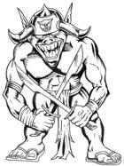 Goblin Torturer clip art image