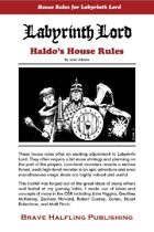 Haldo's House Rules for Labyrinth Lord