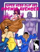 Super Hero Clip Art - Cosmic Avengers