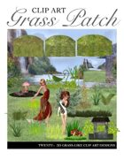 """""""Create your own Image"""" Grass Patch Clipart"""