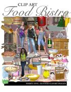 """""""Create your own Image"""" Food Bistro Clipart"""