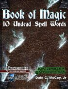 Book of Magic: 10 Undead Spell Words (Printer)