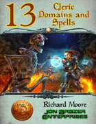 13 Cleric Domains and Spells (13th Age Compatible)
