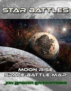 Star Battles: Moon Rise Space Battle Map (VTT)