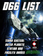 d66 Terra System: Outer Planets Station and Facility Names