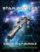 Star Battles: Space Map Bundle (VTT) [BUNDLE]