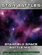 Star Battles: Starfield Space Battle Map (VTT)