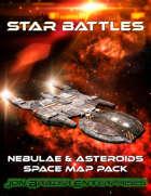 Star Battles: Nebulae & Asteroids Space Map Pack (VTT) [BUNDLE]