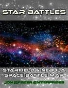 Star Battles: Starfield & Nebula Space Battle Map (VTT)