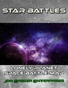 Star Battles: Lonely Planet Space Battle Map (VTT)