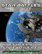 Star Battles: Huge Station Space Battle Map (VTT)