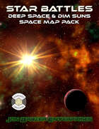 Star Battles: Deep Space and Dim Stars Space Map Pack (Fantasy Grounds)