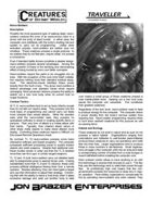 Creatures of Distant Worlds - Necro-Soldiers