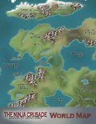Ninja Crusade World Map