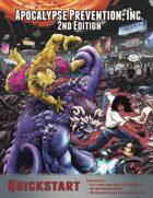 Apocalypse Prevention, Inc. 2nd Edition QuickStart