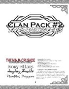 Clan Pack #2: The Tricksters (for The Ninja Crusade 2nd Ed)