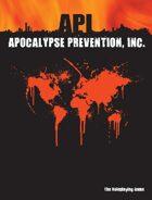 Apocalypse Prevention, Inc. 1st Edition