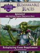 Remarkable Races: The Boggle