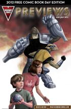 Visionary Comics Previews Vol. 1