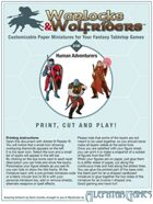 Warlocks & Wolfriders 0100: Human Adventurers