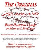 The Original Flatland Role Playing Game