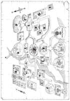 Map of Mt. Krushmore (from Beatdown at Big Battle Ridge) [Tunnels & Trolls]