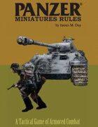 Panzer® Miniatures Rules German Data Cards