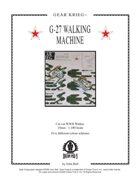 Gear Krieg Card Model: G-27