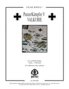 Gear Krieg Card Model: PzK V Valkurie