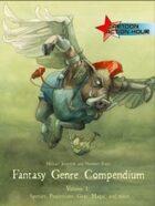 Fantasy Genre Compendium (not printable)