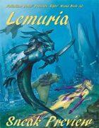Rifts® Lemuria Sneak Preview