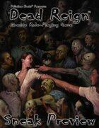 Dead Reign® RPG Sneak Preview