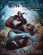 Rifts® Vampires Sourcebook Preview