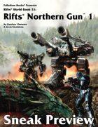 Rifts® Northern Gun One Sneak Preview
